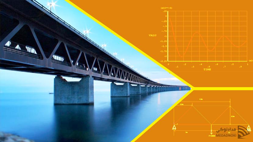 رفتار یک پل در مقابل بار ناگهانی با در نظر گرفتن اثر دمپینگ بر تحلیل